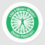 Law of Attraction Classic Round Sticker