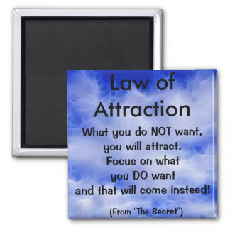 LAW OF ATTRACTION Collection I Magnet