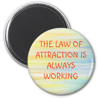 """LAW OF ATTRACTION"" FRIDGE MAGNETS"