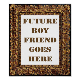Law of Attraction: Future Boyfriend Valentine Print