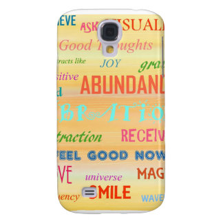"""""""LAW OF ATTRACTION"""" GALAXY S4 CASES"""