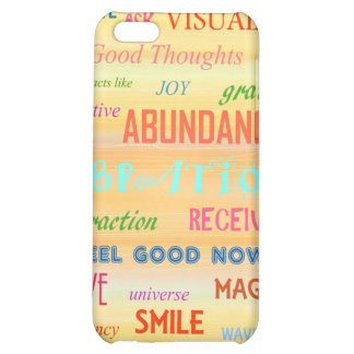 """""""LAW OF ATTRACTION"""" iPhone 5C COVER"""