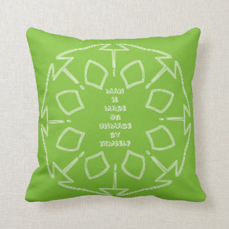 Law of Attraction - James Allen Quotes Pillow