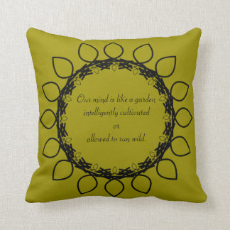 Law of Attraction - James Allen Quotes Throw Pillow