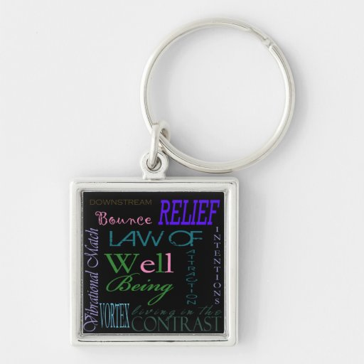 Law of Attraction Keychain