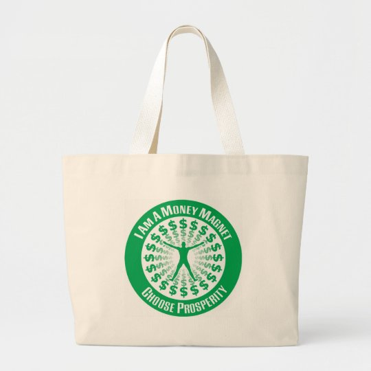 Law of Attraction Large Tote Bag