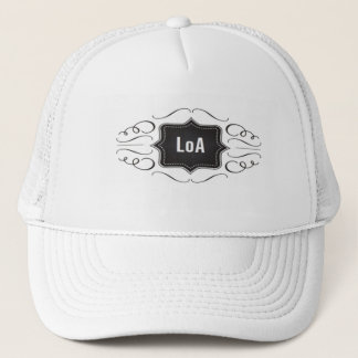Law of Attraction logo Trucker Hat