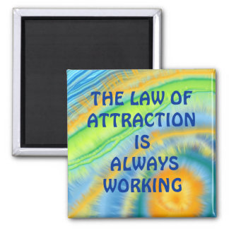 """""""LAW OF ATTRACTION"""" MAGNET"""
