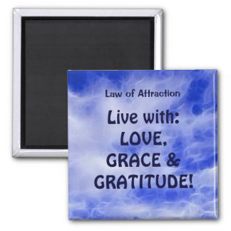 LAW OF ATTRACTION Positive Thinking PMA Magnet