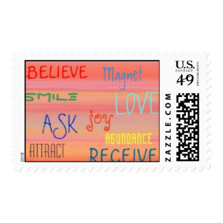 """LAW OF ATTRACTION"" POSTAGE"
