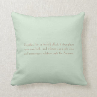 Law of Attraction Quote - Abstract Sunflower Throw Pillow