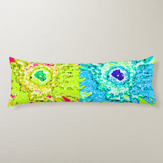 Law of Attraction Quote - Colorful Spring Colors Body Pillow