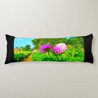 Law of Attraction Quote Dahlia Farm Body Pillow