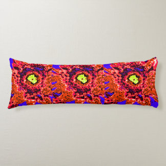 Law of Attraction Quote with Colorful Abstract Art Body Pillow