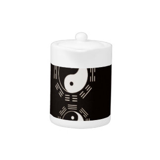 Law of Attraction Quote -Ying Yang Teapot