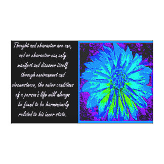 Law of Attraction Quotes Canvas Print
