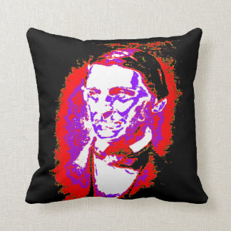 Law of Attraction - Ralph Waldo Emerson Quote Throw Pillow