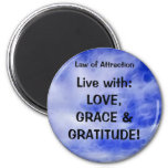 LAW OF ATTRACTION Self Improvement PMA Magnet
