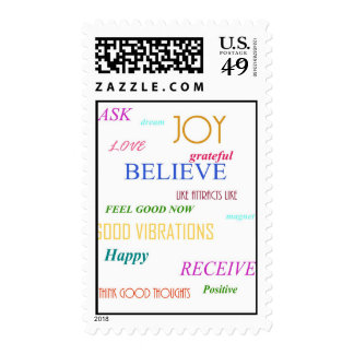 """LAW OF ATTRACTION"" STAMP"
