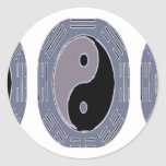 Law of Attraction - Yin Yang Classic Round Sticker