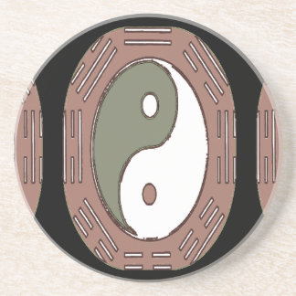 Law of Attraction - Ying Yang Drink Coaster
