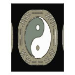 Law of Attraction - Ying Yang Letterhead