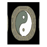 Law of Attraction - Ying Yang Postcard