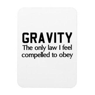 Law of Gravity Rectangular Photo Magnet