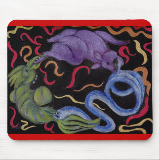 Law of Karma Mouse Pad