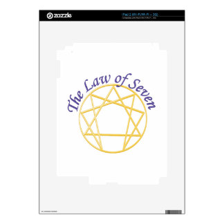 Law of Seven Skin For iPad 2