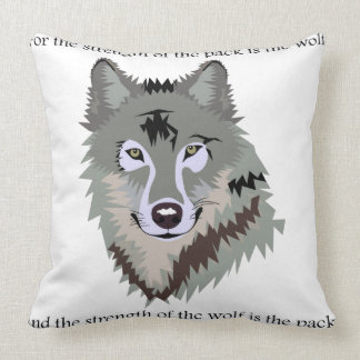 Law of the Jungle Throw Pillow