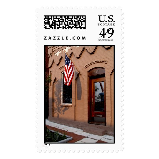 Law Office of Colonel John Houston Savage Postage