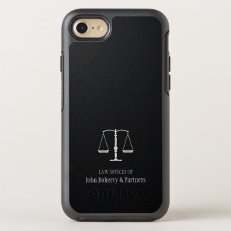 Law Office | Scales of Justice OtterBox Symmetry iPhone 8/7 Case