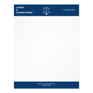 LAW OFFICES Letterhead