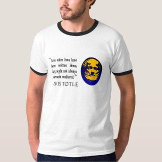 Law philosophy large T-shirt