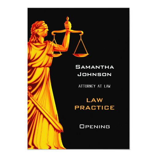 Law Practice: Opening Announcement