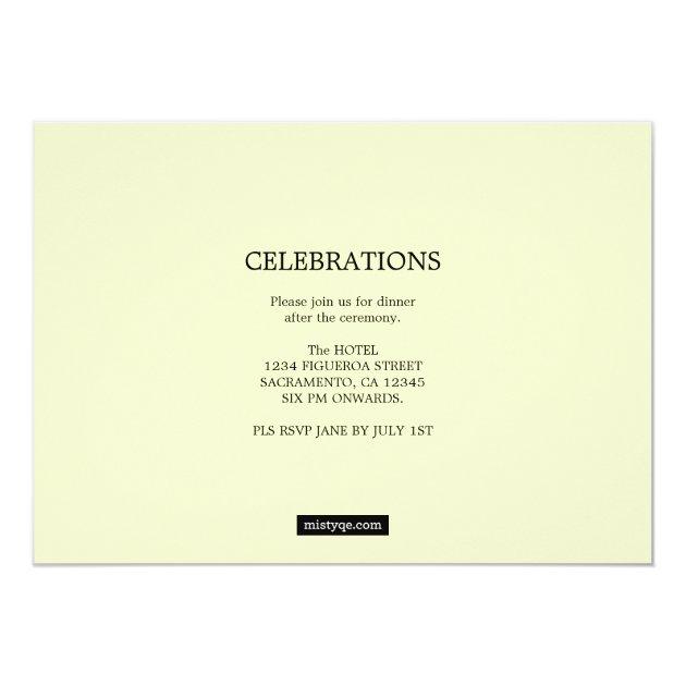 LAW-rel Wreath Law Graduation Photo Invitation (back side)