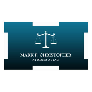 Law Scale Business Card