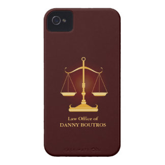 Law Scale iPhone 4/4S Case-Mate Barely There iPhone 4 Case