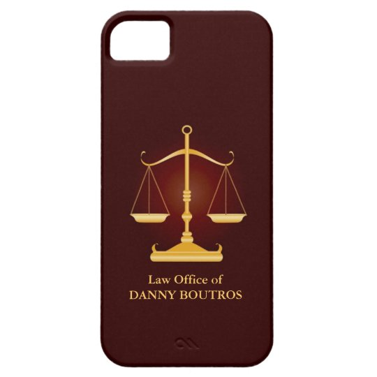 Law Scale iPhone 5 Cover