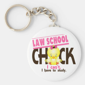 Law School Chick 1 Keychain