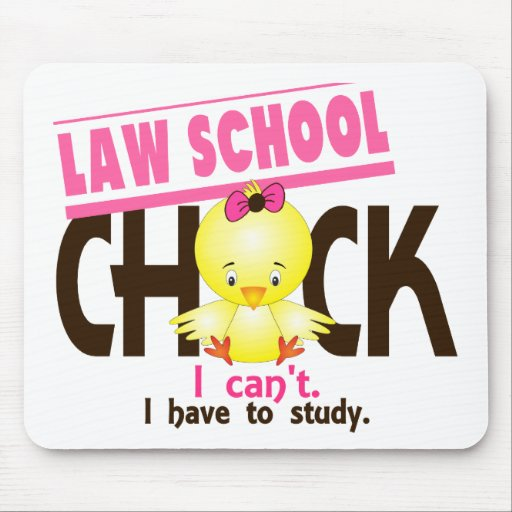Law School Chick 1 Mouse Pads