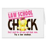 Law School Chick 2 Card