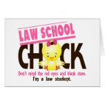 Law School Chick 2 Greeting Card