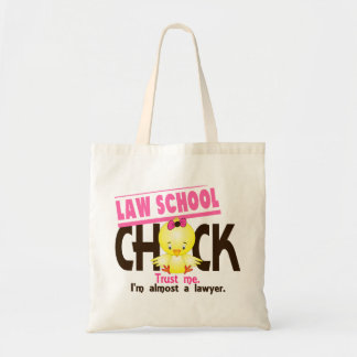 Law School Chick 3 Budget Tote Bag