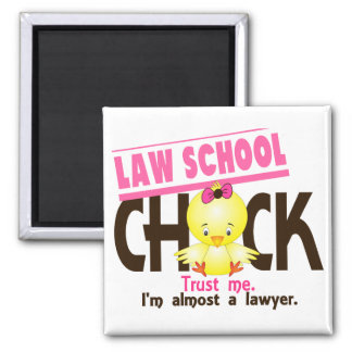 Law School Chick 3 Magnets