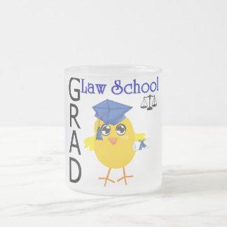 Law School Grad 10 Oz Frosted Glass Coffee Mug