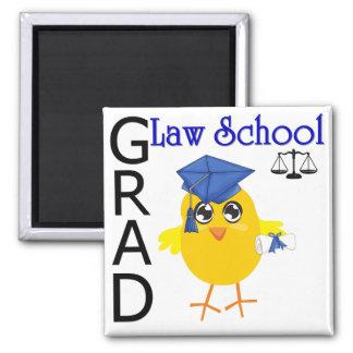 Law School Grad 2 Inch Square Magnet