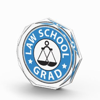 Law School Grad Acrylic Award