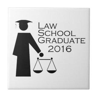 Law School Graduate 2016 Ceramic Tile